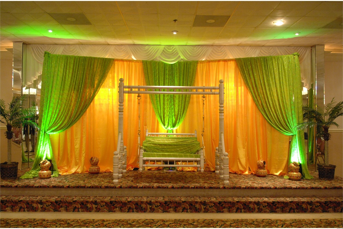 Maharani indian wedding decoration ideas save 30 click for Backdrop decoration for church