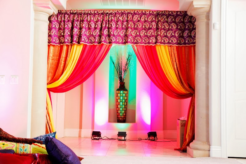 Home Decoration In Punjabi Wedding : Wedding home decoration