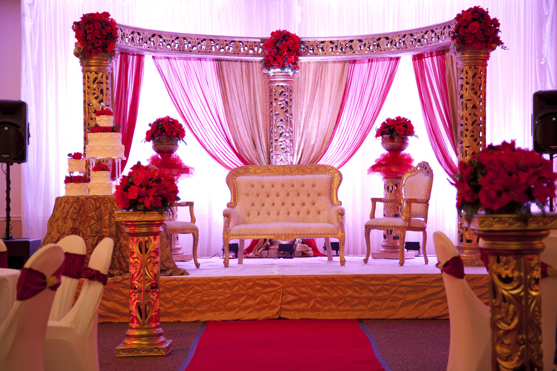 Maharani indian wedding decoration ideas click here one for Home decor ideas for indian wedding