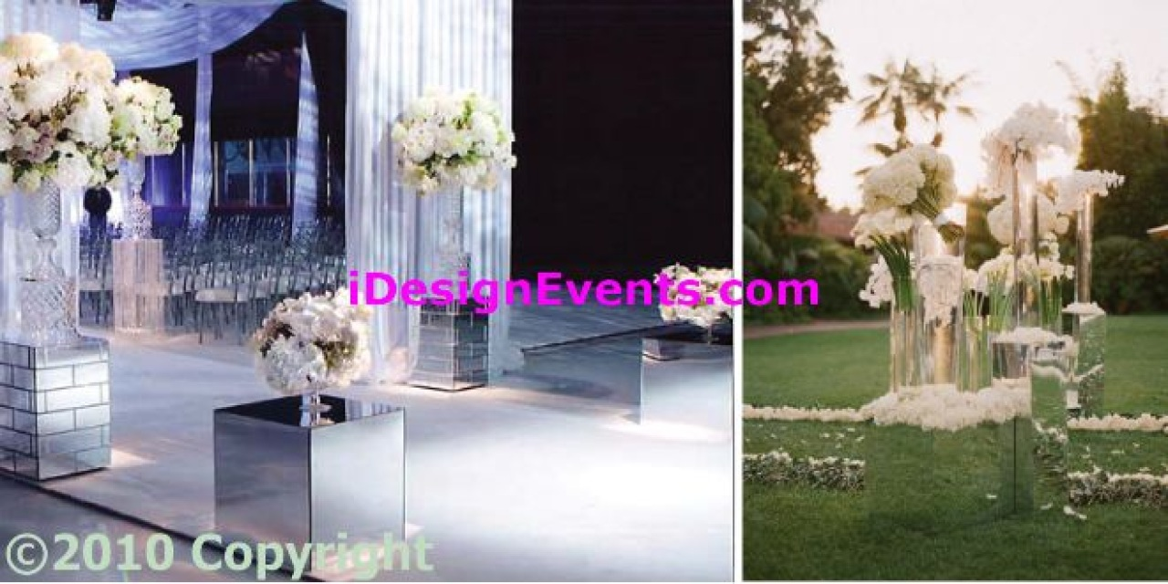 Ceremony Columns Pillars For Rent