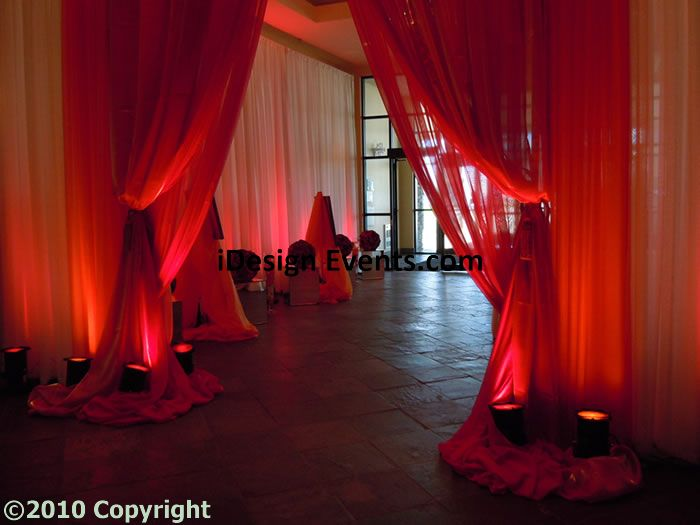 Entry Draping Pipe And Drape In Up To 2 Colors