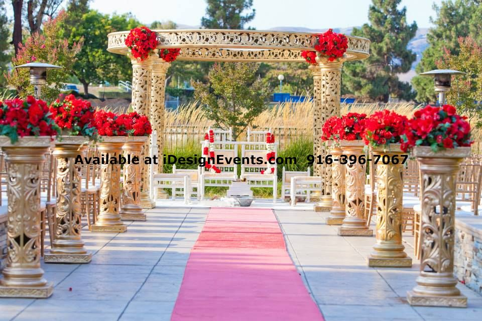 Round mandap Home decor stores india