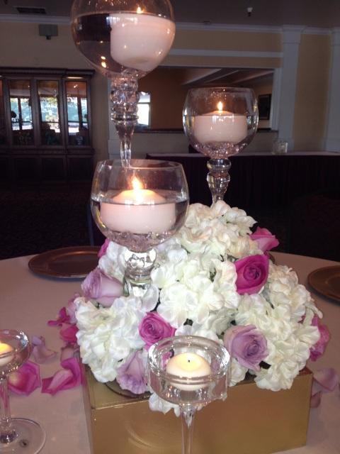 Diy centerpiece rental wedding flowers
