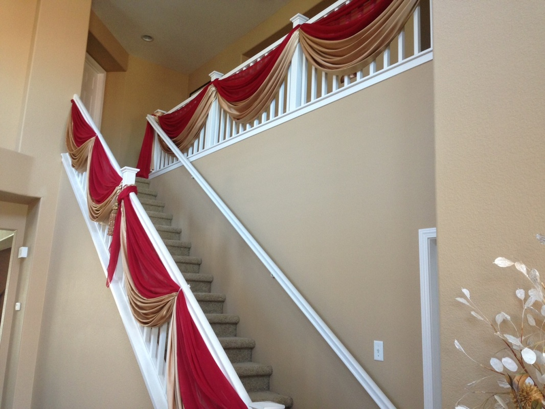 Wedding staircase decorations images wedding decoration ideas wedding decoration ideas for stairs images wedding dress wedding decoration ideas for stairs image collections wedding junglespirit Image collections